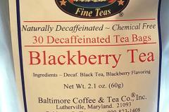 Baltimore Decaf. Tea Bags