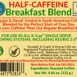 HALF-CAFF Breakfast Blend Cups