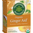 Traditional Medicinals Ginger Aid Herbal Tea Bags ~ 16 Count