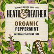 Heath & Heather Organic Peppermint Herbal ~ 20 Tea Bags