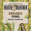 Heath & Heather Organic Fennel Herbal Tea ~ 20 Tea Bags