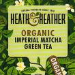 Heath & Heather Organic Imperial Matcha Green Tea ~ 20 Tea Bags