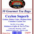 Ceylon Superb Tea Bags