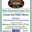 Baltimore Green Tea With Cherry