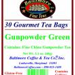 Gunpowder Green Tea Bags