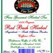 Baltimore Organic Rooibos Tea