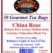 China Rose Tea Bags