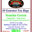 Sencha Green Tea Bags