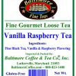 Baltimore Vanilla Raspberry Tea