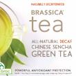 Brassica Decaf.Green Tea with Truebroc ~ 16 Count Tea Bags