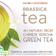 Brassica Decaf.Green Tea with Truebroc ~ 16 Count Tea Bags