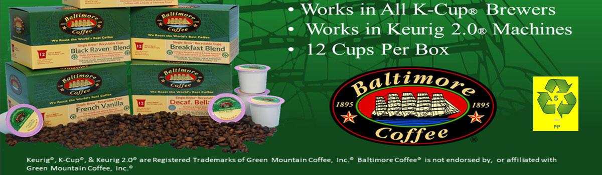 Recyclable K-Cup® Compatible Cups