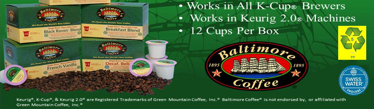 K-Cup® Compatible Cups