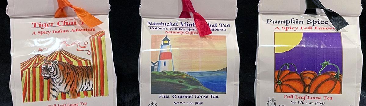 Eastern Shore Loose Tea in Ribbon Bags