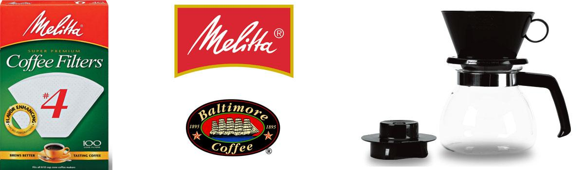 Melitta Coffeemakers & Filters