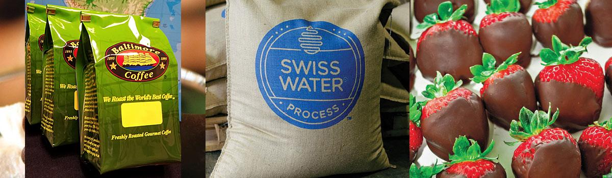 Swiss Water Process® Decaf. Flavored Coffee